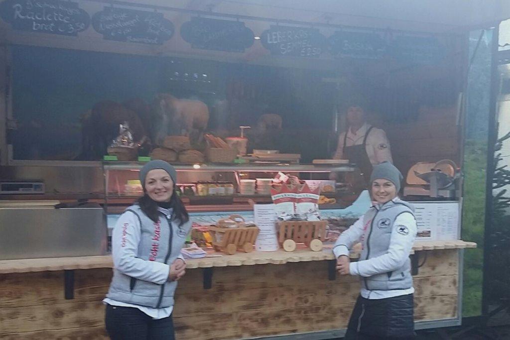 Echt kasig auf dem Bauernmarkt in Bischofshofen
