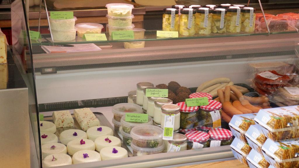 Echt kasig Produkte auf dem Bischofshofener Bauernmarkt